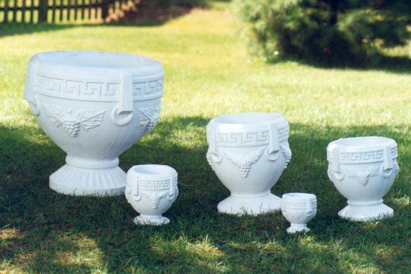 Ensemble de pots à fleurs Grecian big daddy