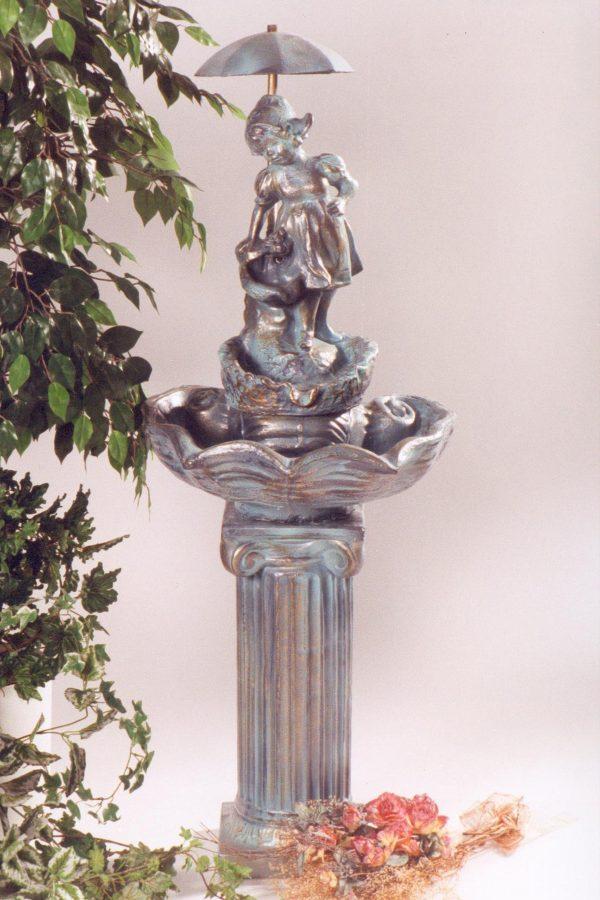 Fontaine mini écaille hollandaise sur pied