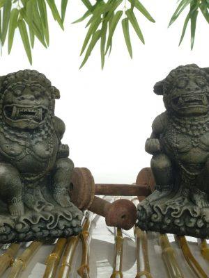Gardiens de temple