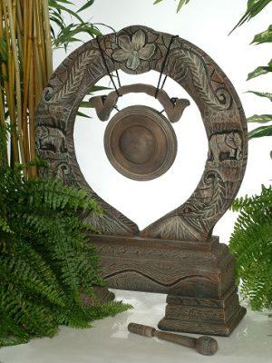 Gong pour le jardin