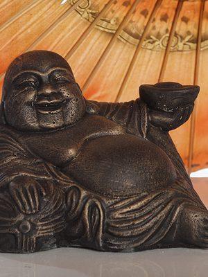Statue de jardin - Bouddha couché