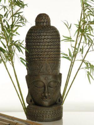 Face de bouddha longue