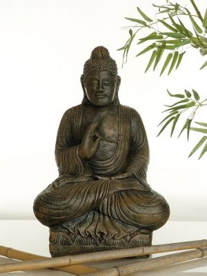 Statue de jardin de gros Boudha