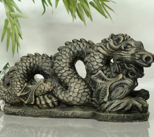 Statue de jardin de dragon chinois
