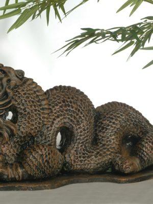 Statue de jardin de dragon