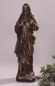 Statue de jardin de sacré coeur