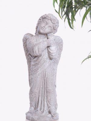 Statue d'ange pour le jardin