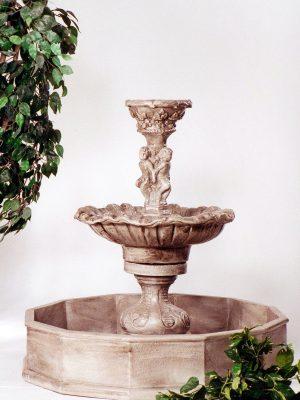 Fontaine bassin chérubin
