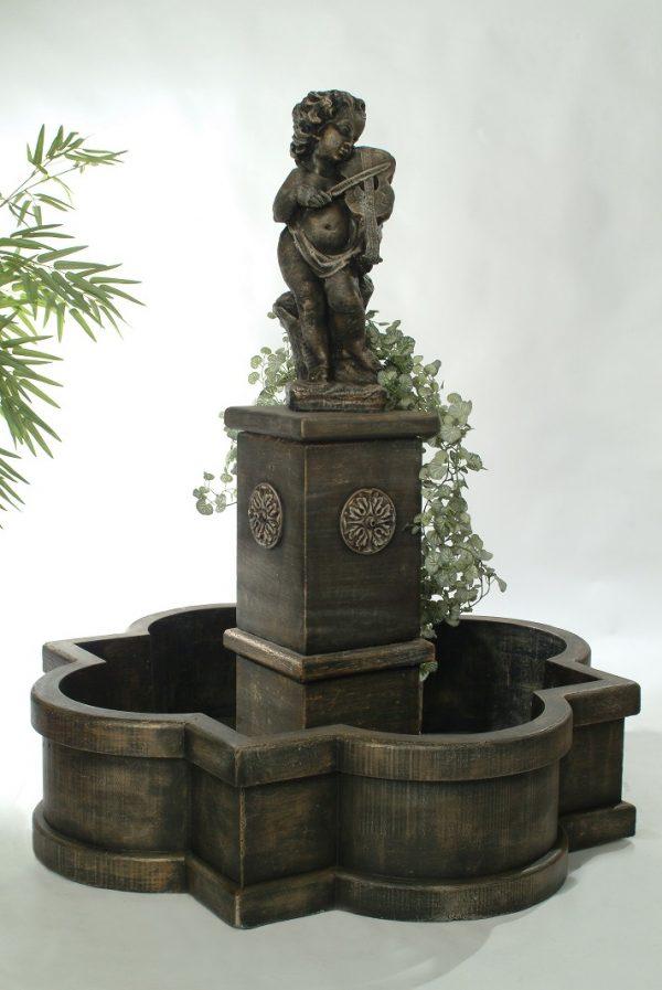 Fontaine rosette violoneux