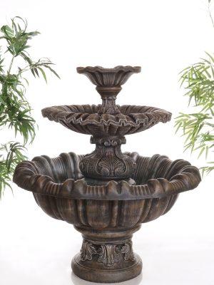 Fontaine italienne dentelée 2 étages
