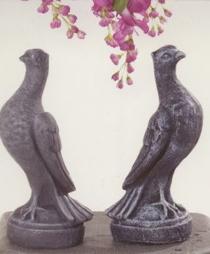 Statues de jardin de colombes