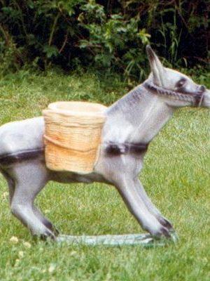 Statues de jardin d'âne