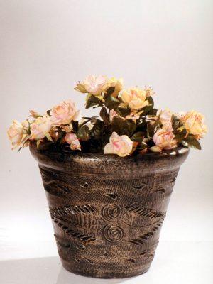 Pot à fleurs décoratif
