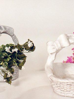 Pot à fleurs moyen avec boucle