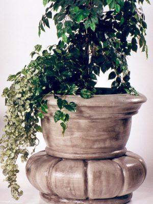 Pot à fleurs en forme d'orchidée