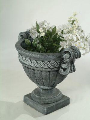 Pot à fleurs avec anse