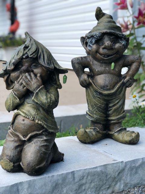 Statues de jardin de gnomes