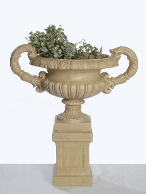 Pot à fleurs Elizabeth sur pied