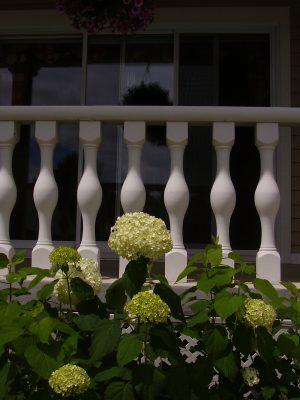 Balustrade blanche