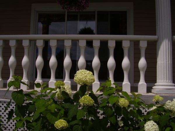 Balustrade blanche