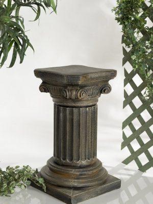 Colonne antique grecque pour jardin