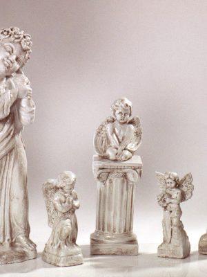 Statues d'ange en pierre