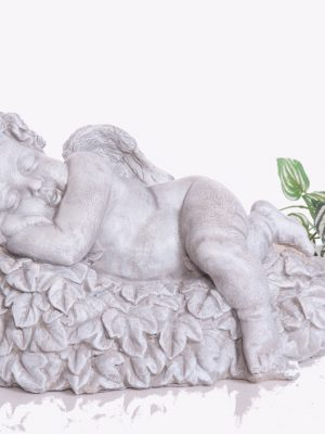 Statue de jardin  ange bébé