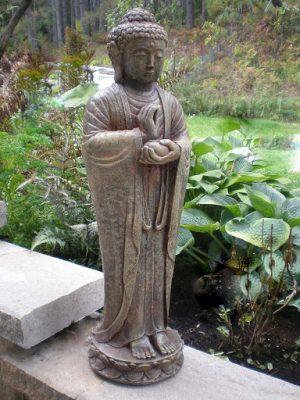 Statue de jardin - Bouddha indonésien