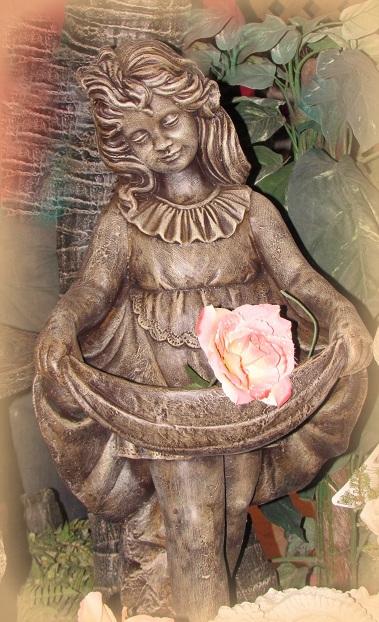 Statue de jardin Elodie