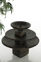 Fontaine ronde à 3 étages