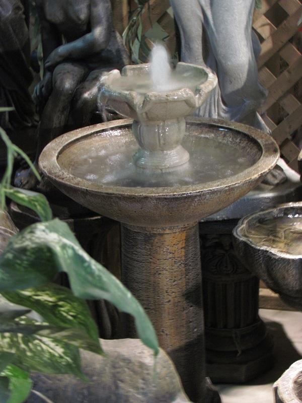 Fontaine à étage
