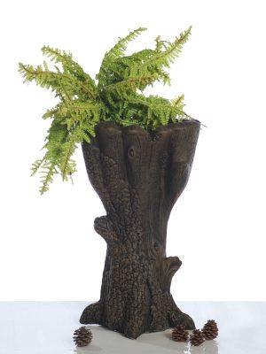 Pot à fleur en forme d'arbre