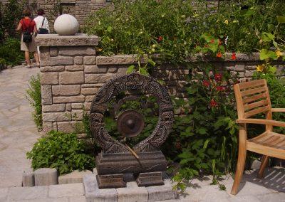 Sculpture de gong