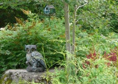 Sculpture de hibou
