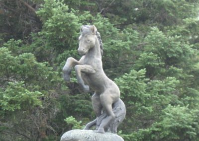 Sculpture de cheval