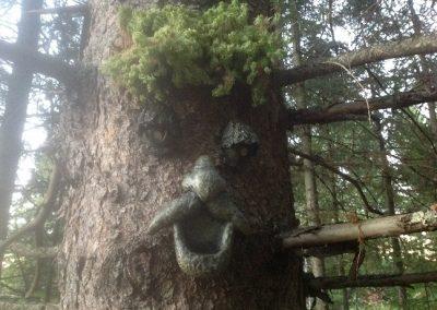 Visage pour arbre